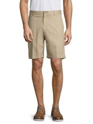 Peter Millar Soft Touch Twill Flat Front Shorts