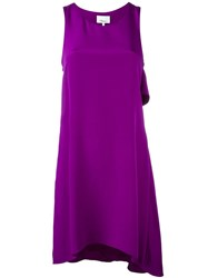 3.1 Phillip Lim Sleeveless Silk Dress Pink And Purple