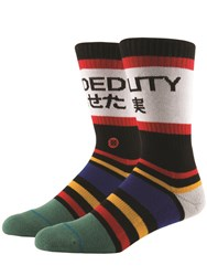 Stance Fade Out Cotton Blend Socks