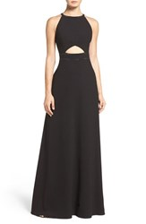 Aidan Mattox Women's By Embellished Crepe Gown