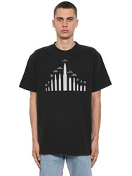 Vetements Bullet Cotton Jersey T Shirt Black