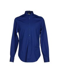 Gianfranco Ferre Gf Ferre' Shirts Shirts Men Blue
