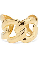 Kenneth Jay Lane Gold Tone Cuff One Size Gbp