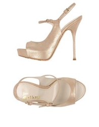 John Galliano Sandals Platinum
