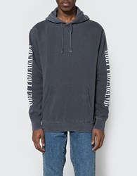 Obey New Times Propaganda Hooded Fleece In Black