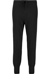 Madeleine Thompson Aisla Cashmere Sweatpants Black