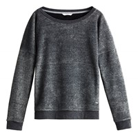 Sandwich Velour Jersey Jumper Grey