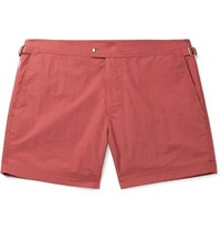 Tom Ford Mid Length Slim Fit Swim Shorts Coral