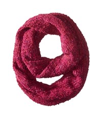 Echo Multicolor Boucle Infinity Ring Dusty Plum Scarves Pink