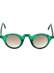 Barn's 'Retro Pantos' Sunglasses Green