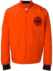 Christopher Kane Law And Order Bomber Yellow Orange