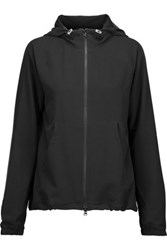 Yummie Tummie By Heather Thomson Giselle Tech Jersey Hooded Jacket Black