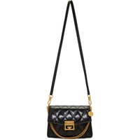 Givenchy Black Small Quilted Gv3 Bag