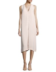 French Connection Wide Leg Jumpsuit Pink Opal