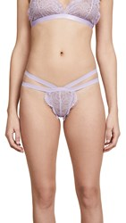 Les Coquines Lily Thong Lavender