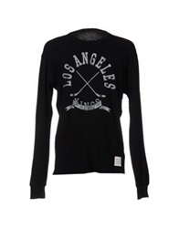 Retro Brand Sweaters Black