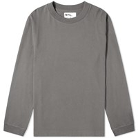Mhl By Margaret Howell Mhl. Wide Neck Crew Sweat Grey