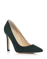 Ivanka Trump Carra Pointed Toe Pumps Green