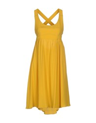 A'biddikkia Dresses Short Dresses Women Yellow