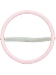 Wxyz By Laura Wass Rubber Ring Bangle Grey