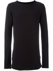 Thom Krom Raw Cut Sweatshirt Black