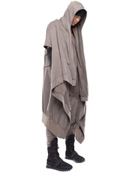 Demobaza Prana Cotton Sweatshirt Cape
