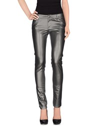Gaudi' Denim Denim Trousers Women Grey