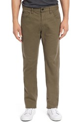 Men's 'Stay Rvca' Slim Straight Pants Leaf