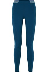 Lndr Marvel Color Block Stretch Leggings Petrol