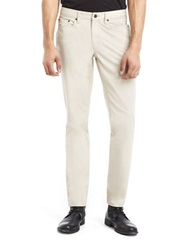 Kenneth Cole Slim Fit Sateen Pants Flax
