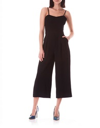Sam Edelman Pleated Jumpsuit Black