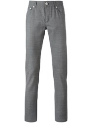 Brunello Cucinelli Slim Fit Trousers Grey