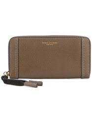 Marc Jacobs Wallet Women Leather One Size Brown