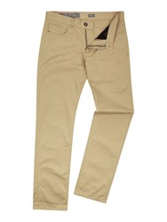 Victorinox Men's Architect Slim 5 Pocket Beige