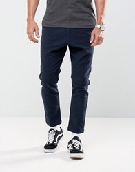 Solid Tapered Trousers 1991 Navy