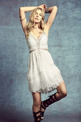 Free People Lace Up Babydoll