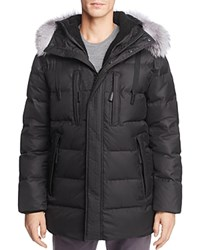 Andrew Marc New York Alaska Hooded Parka Black
