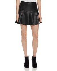 Joie Terina Faux Leather Skirt 100 Bloomingdale's Exclusive Caviar