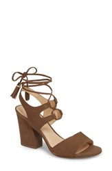Klub Nico Kaira Ankle Wrap Sandal Truffle Leather