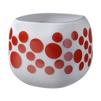 Nude Mono Box Iris Inspiration Vase Red