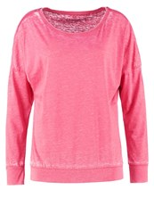 Esprit Sports Long Sleeved Top Berry Red