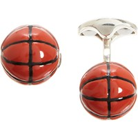 Deakin And Francis Men's Basketball Cufflinks No Color
