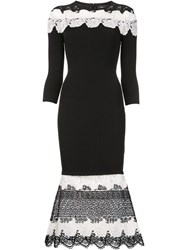 Yigal Azrouel Embroidered Details Dress Black