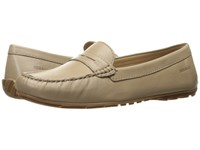 Sebago Harper Penny Taupe Leather Women's Shoes