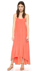 One By Pink Stitch Resort Maxi Dress Coral