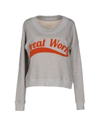 Selected Femme Topwear Sweatshirts Women Grey