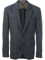 Brunello Cucinelli Flap Pockets Blazer Grey