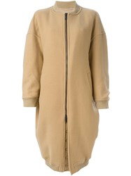 A.F.Vandevorst Oversized Coat Nude And Neutrals