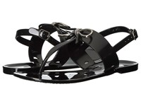 Tahari Jay Black Rubber Women's Sandals