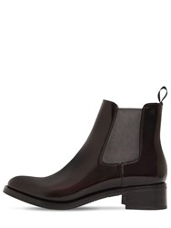 Church's 40Mm Monmouth Brushed Leather Boots Bordeaux